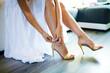 nogi panny młodej