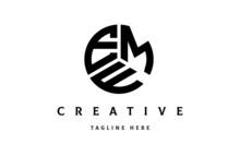 EMF Creative Circle Three Letter Logo