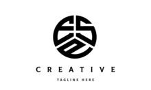ESP Creative Circle Three Letter Logo