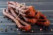 kabanosy, kiełbasa, wieprzowe