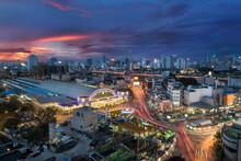 Bangkok Railway Station Unofficially Known As Hua Lamphong Stati
