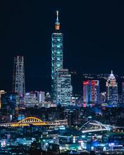 Glowing Taipei