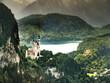 canvas print picture - Schloss Neuschwanstein