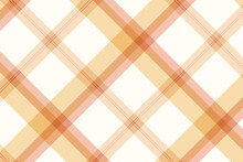 White And Yellow Tartan Seamless Pattern Background Vector Template