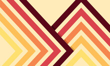 Abstract Creative Background Style 70s 1970 Abstract Vector Stock Retro