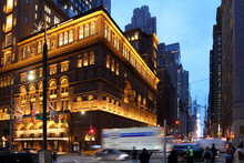 New York - Straßenbild 7th Ave / New York - Streetscape 7th Ave /.
