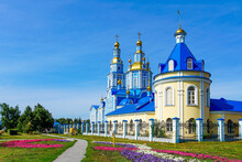 The Orthodox Church. Savior-Ascension Cathedral.  Ulyanovsk. Russia.