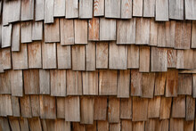 Old Wooden Natural Texture With Planks Or Tiles