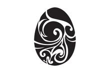 Easter Egg Tribal Tattoo