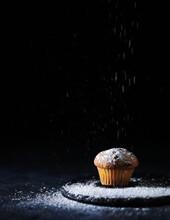 Minimalist One Cupcake In Low Key