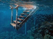 Photo Of Stairs Underwater