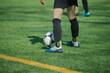 zawodnicy uprawiający sport, piłka nożna