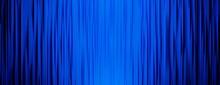 青の高級感ある背景素材