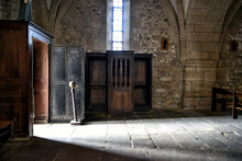 Old And Ancient Church Interior