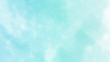 Abstract Beautiful And Colorful Hand Painted Grunge Watercolor Cloudy Sky Background.beautiful And Colorful Watercolor Used For Wallpaper,banner, Design,painting,arts,printing And Decoration.