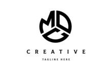 MOC Creative Circle Shape Three Letter Logo Vector