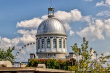 The Iconic Dome And Structure Of The Bonsecours Market In MOntreal