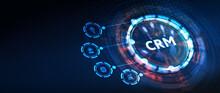 Business, Technology, Internet And Network Concept. CRM Customer Relationship Management. 3d Illustration