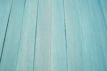 Blue Wood Background Plank Table Texture