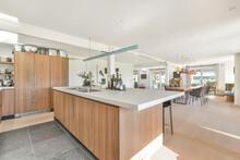 Contemporary Kitchen Interior At Home