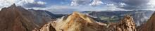 Piute Crags Mountain Panorama