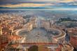 Bazylika św. Piotra widok z kopuły