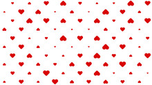 Abstract Heart Pattern Background
