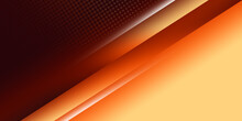 Modern Colorful Abstract Background, The Look Of Orange Gradient Vibrant Color, Light Lines On A Brown Background