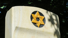 Jewish Monument To Holocaust Victims Who Died In World War II