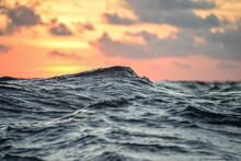 Waves During Sailing Trip In Vietnam