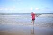 Morze Bałtyckei Dziecko zabawa wakacje