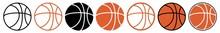Basketball | Ball | Emblem | Logo | Variations
