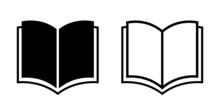 Simple Book Vector Icons Set