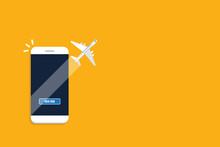 Book Online Your Flight, Smartphone Ticket Booking App
