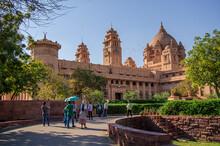 Beautiful And Colorful Umaid Bhavan Palace