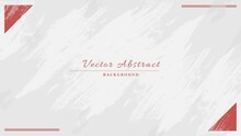 Minimal Abstract White Grunge Vintage Frame Background