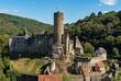 canvas print picture - Ruine der Burg Eppstein in Eppstein in Hessen, Deutschland