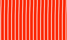 Several White Lines Lined Up Inside An Orange Box