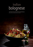 Pasta with bolognese sauce in bowl