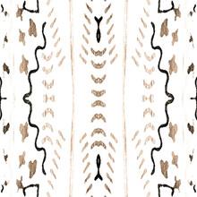 Stripes Print Seamless. Minimal Aztec Stripes.