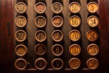 Detalle Caja Registradora Antigua