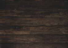 Vintage Brown Wood Background Texture With Knots And Nail Holes.