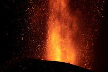 Erupción Del Volcán De Cumbre Vieja En La Isla De La Palma, Islas Canarias