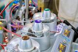 Fototapeta Kawa jest smaczna - Apparatus circulation blood heart lung machine for heart surgery in operating room