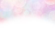 虹色に光輝くぼかしが綺麗な背景イラスト