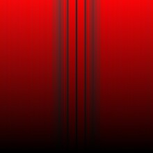 Grey Vertical Stripes On A Shades Of Vivid Red To Black Coloured Gradient
