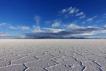 Salt Desert Of Uyuni In Bolivia