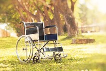 Wheelchair In The Park