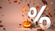canvas print picture - Halloween Discount