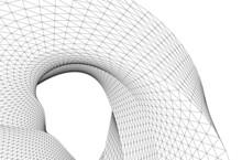 Abstract Geometric Design Digital Drawing